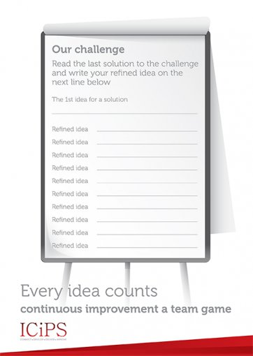 Our Challenge - Read the last solution to the challenge and write your refined idea on the next line below